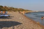 Pláž Kokkinogia - ostrov Rhodos foto 15