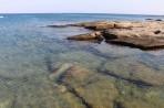 Pláž Kokkinogia - ostrov Rhodos foto 24