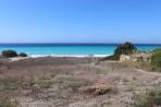 Pláž Kouloura - ostrov Rhodos foto 3