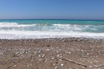 Pláž Kouloura - ostrov Rhodos foto 7