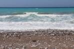 Pláž Kouloura - ostrov Rhodos foto 8