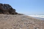Pláž Kouloura - ostrov Rhodos foto 9