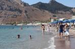 Pláž Kolymbia - ostrov Rhodos foto 17