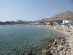 Pláž Stegna - ostrov Rhodos foto 14