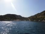 Pláž Ladikou - ostrov Rhodos foto 6