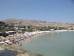 Pláž Megali Paralia (Lindos) - ostrov Rhodos foto 4