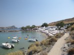 Pláž Megali Paralia (Lindos) - ostrov Rhodos foto 6