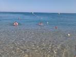 Pláž Reni Koskinou - ostrov Rhodos foto 1