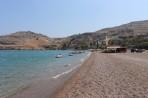 Pláž Vlicha - ostrov Rhodos foto 8