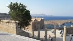 Akropole Lindos - ostrov Rhodos foto 12