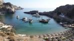 Pláž Agios Pavlos (Lindos - Saint Paul Bay) - ostrov Rhodos foto 12