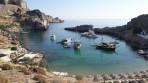 Pláž Agios Pavlos (Lindos - Saint Paul Bay) - ostrov Rhodos foto 13