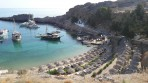 Pláž Agios Pavlos (Lindos - Saint Paul Bay) - ostrov Rhodos foto 14