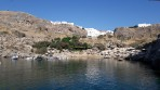 Pláž Agios Pavlos (Lindos - Saint Paul Bay) - ostrov Rhodos foto 18
