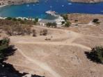 Bílé městečko Lindos - ostrov Rhodos foto 17