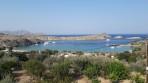 Pláž Megali Paralia (Lindos) - ostrov Rhodos foto 17