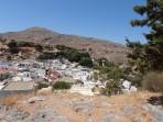 Bílé městečko Lindos - ostrov Rhodos foto 6