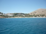 Pláž Megali Paralia (Lindos) - ostrov Rhodos foto 12