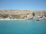 Pláž Megali Paralia (Lindos) - ostrov Rhodos foto 24