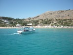Pláž Megali Paralia (Lindos) - ostrov Rhodos foto 25