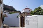 Bílé městečko Lindos - ostrov Rhodos foto 19