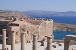 Akropole Lindos - ostrov Rhodos foto 20