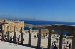 Akropole Lindos - ostrov Rhodos foto 30