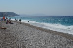 Pláž Akti Miaouli (Město Rhodos) - ostrov Rhodos foto 6