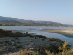 Solné jezero Alikes (Alykes)